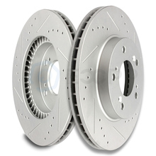 2pcs Front 282mm Discs Rotors Brake Kit for Integra Legend RL TL for Honda Odyssey Prelude for Isuzu 120.40026 3296