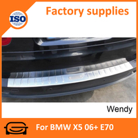Car tail door plate running boards side step footstep for BMW X5 06+ E70 tail door plate