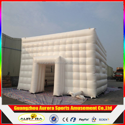 Inflatable Lawn Cube Tent for Wedding or Party,outdoor inflatable tent,