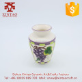 Tall Grapes Ceramic Vase great contemporary tall floor type design for flowers