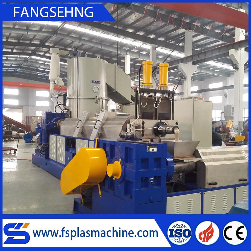 PP PE HDPE LDPE plastic granulator/plastic recycling pelletizer machine
