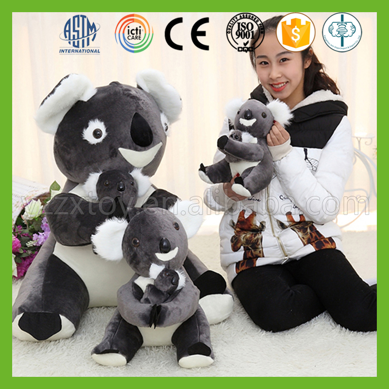 Custom best handmade soft plush giant stuffed koala