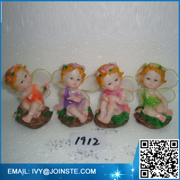 Resin fairy figures garden miniature fairy figures promotion