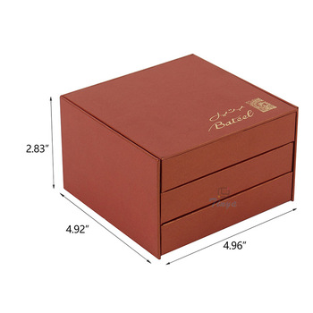 creative design box red luxury packaging chocolate