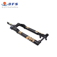1.35kg Carbon DFS air fork DFS-RLC-TP-TC-BOOTS15X110 29er 27.5er Bicycle suspension fork MTB mountain fork air resilience