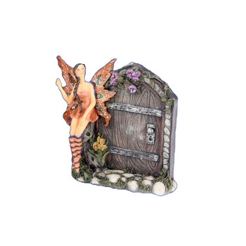 Custom Fairy Tale Items Resin Mini Fairy Garden Door