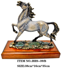Antique brass horse statue, chinese horse statue