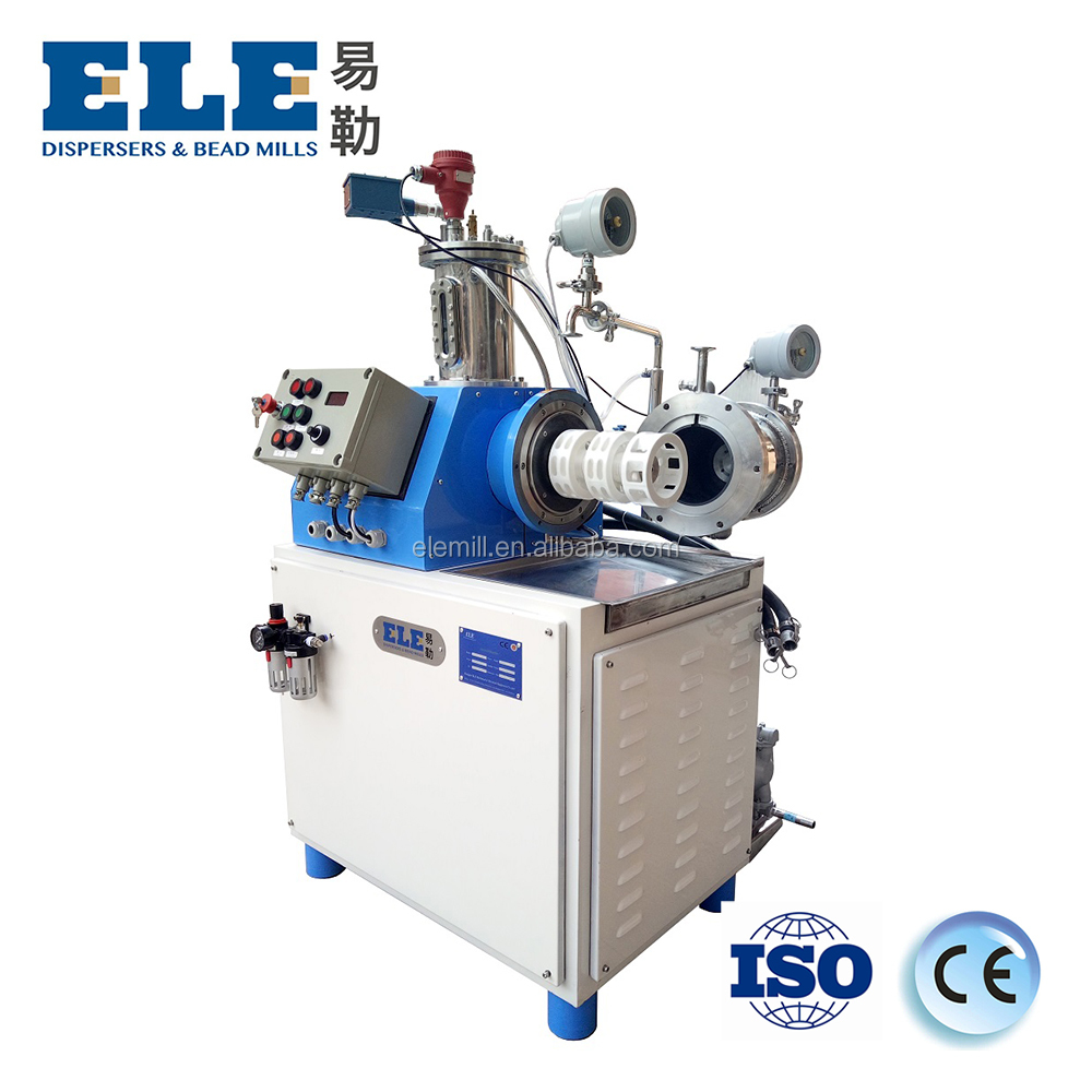 Turbo type horizontal bead mill ceramic sand mill for pigment production