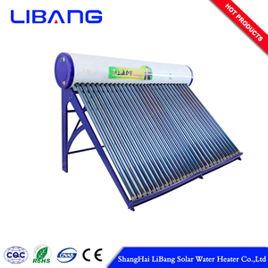 150L intergrated color coated steel solar water heater