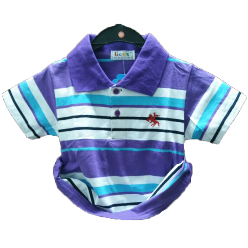 Retails 2015 kids boys shirt striped polo shirt short sleeve summer shirt children kids clothing baby boys clothes free shipping
