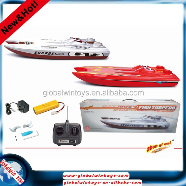 new product high speed EP universal remote control rc electrical racing boat ship model toy CT3232 stop opreation without warter