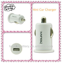 2012 new mini usb car charger for iphone5