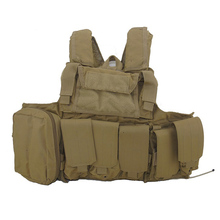 Sport outdoor double canvas tactical camouflage military rucksack backpack