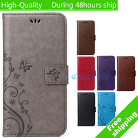 Pattern Leather Phone Case for Samsung Galaxy Trend 2 Lite G318H G318 TPU Back Cover Flip Shell Stand Wallet Bag Card Holder