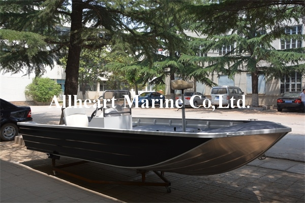 Coastal 13ft Basic Aluminum Hull for Family <strong>Boating</strong>