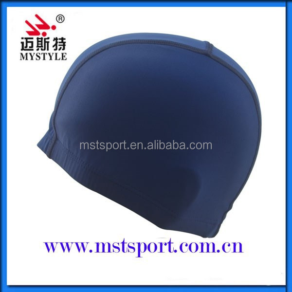 Polyester china manufacturers swim caps wholesale