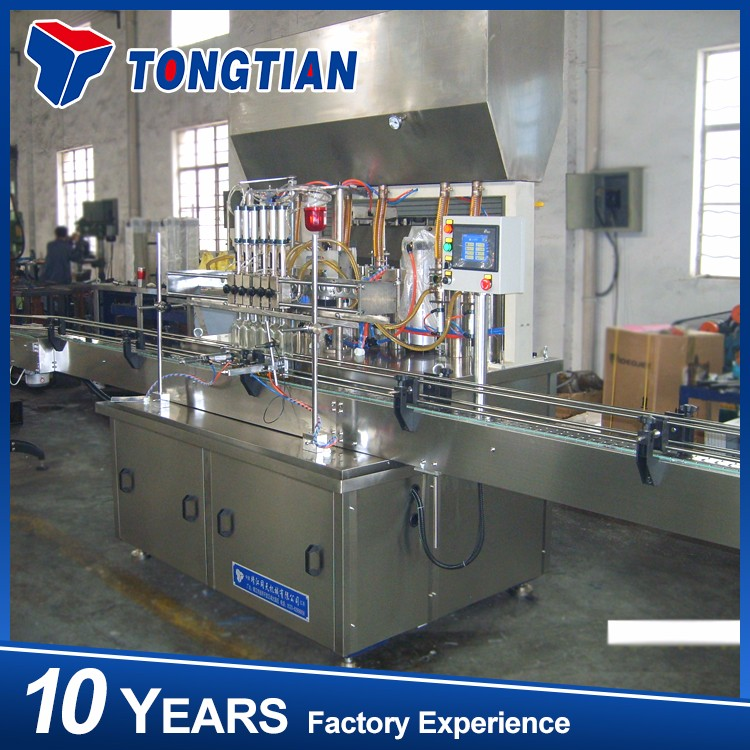 used cooking oil filling cleaning machine