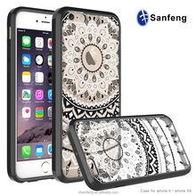 2017 hot selling mandala flowers mobile phone case for Apple Iphone 7