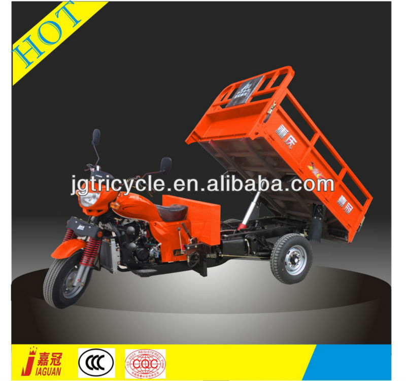 CN useful hydraulic type dump motor tricycle