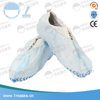 China factory eco-friendly medical 30g non woven disposable shoe cover