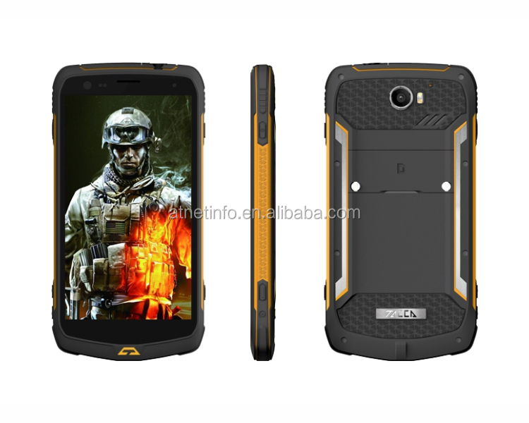 "5.5"" walkie talkie NFC military grade mobile phones with ptt"