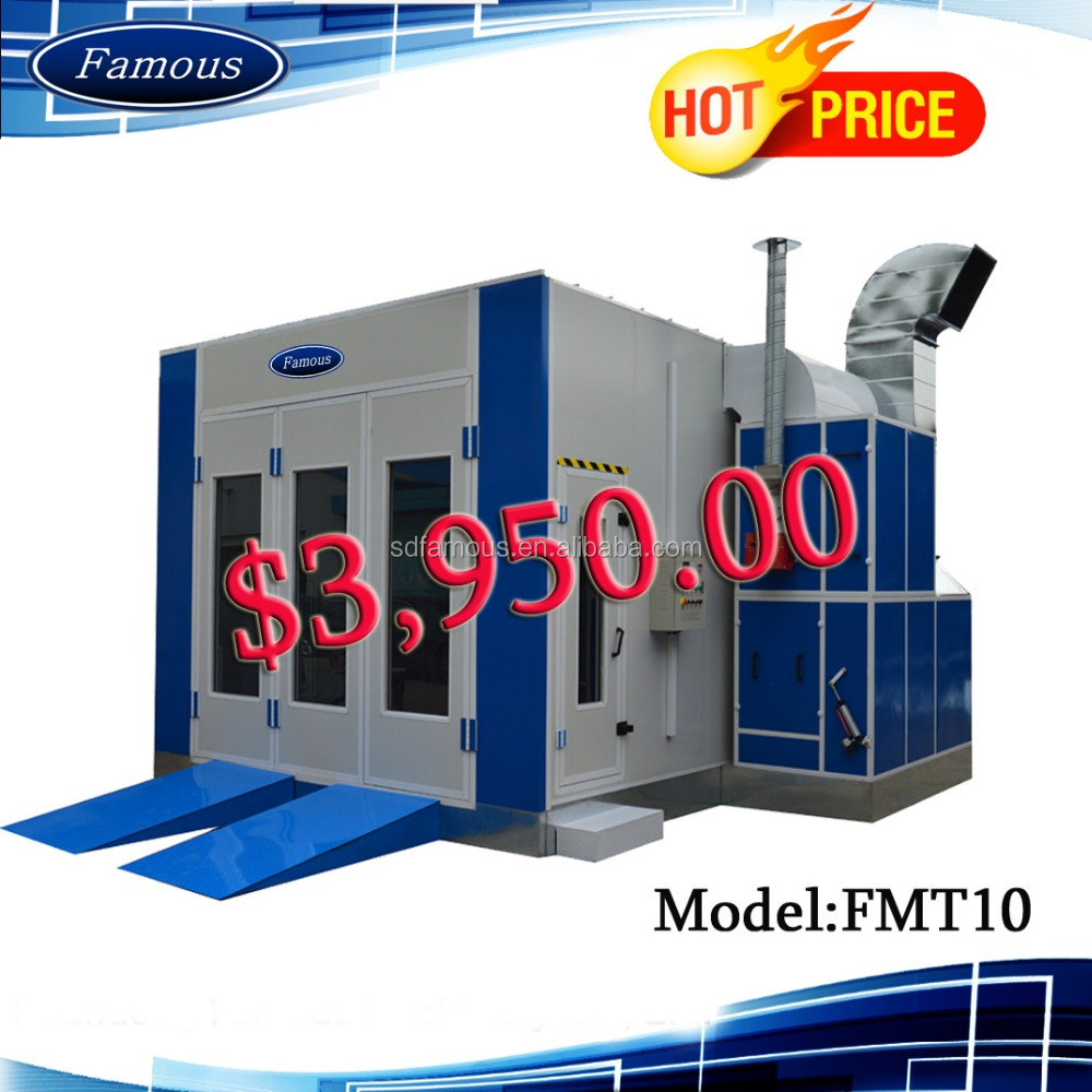Made in China spray booth water curtain/outdoor spray booth/paint spray booth