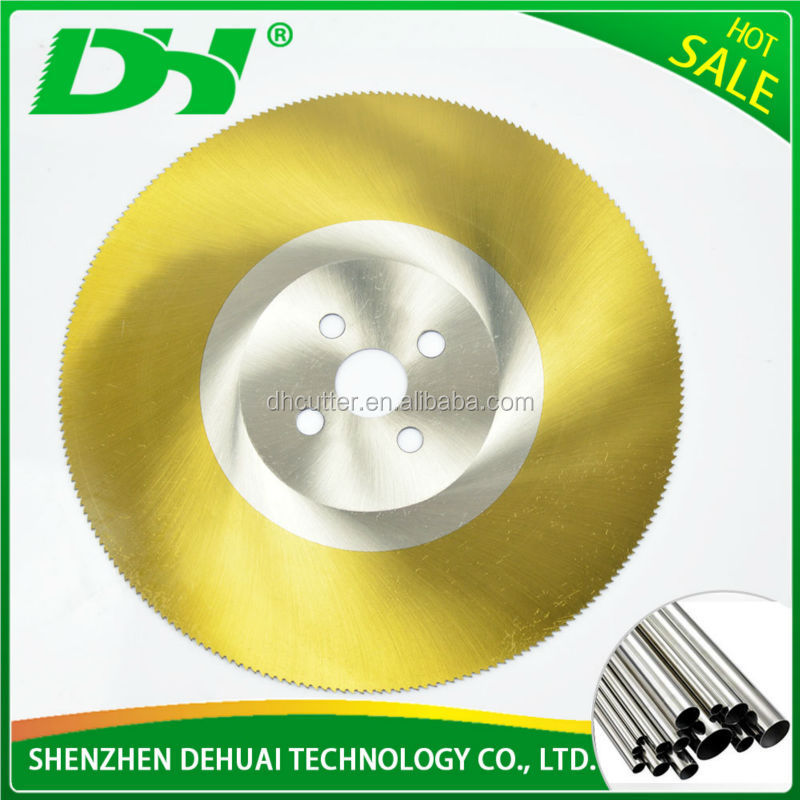 350*32mm stainless steel cutting hss circular saw blade