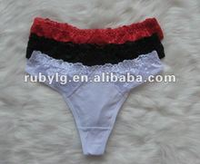 Lace sexy women panties for men