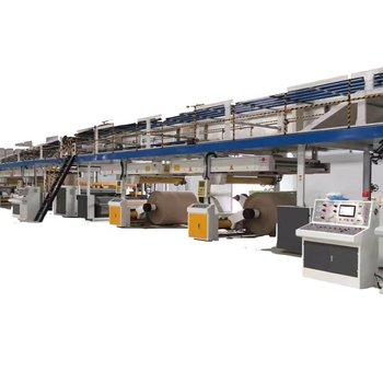 3 layer corrugated paperboard production line