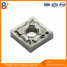 CNMG120404-AK tungsten carbide insert for aluminium alloy material machining
