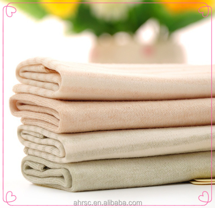 baby face wash cloth natural colored 100% organic cotton