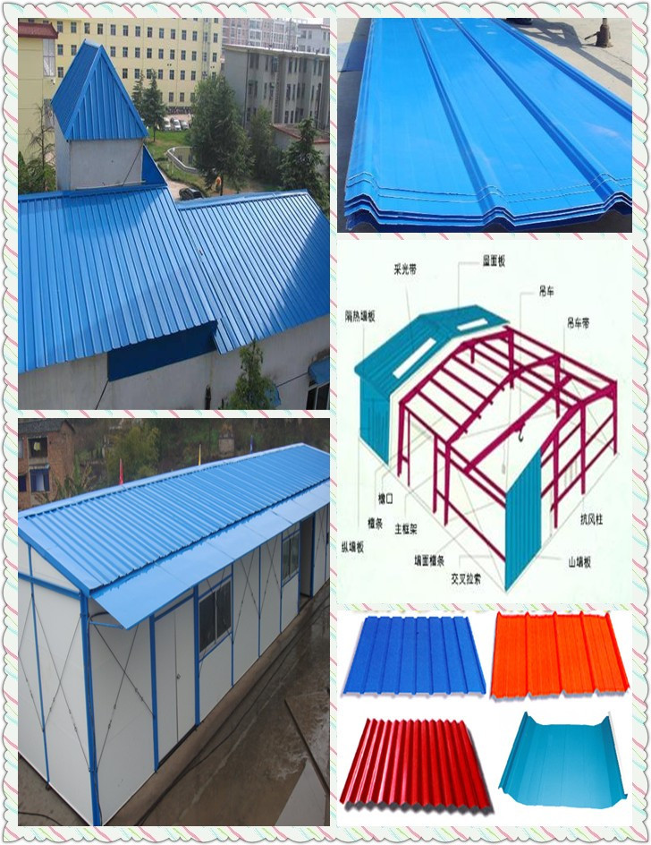 Construction Sheet Metal : High quality metal building materials colorful sheet