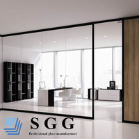 High Quality Interior Decoration Glass Partition