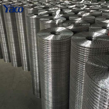 3/4 inch galvanized welded wire mesh and stainless steel welded wire mesh