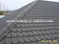 Colorful Stone Coated Metal Roofing Tile / Metal Corrugated Tile Roofing/Colorful Coated Steel Roof Tile original manufacturer