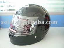 Black Full face helmet 037