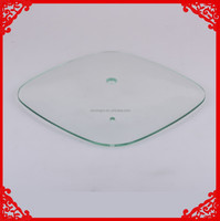 Tempered glass pan cover refined rim