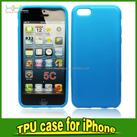 High Quality Glossy Blank TPU Phone Case for IPhone 5C