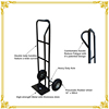 Hot product cheap foldable hand luggage trolleys/hand trolley two wheel prices