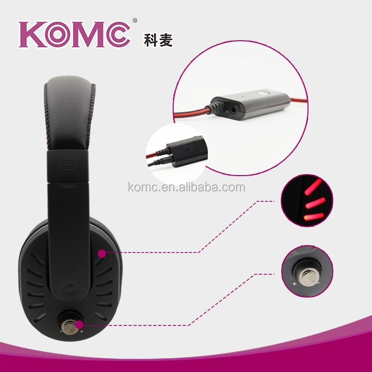 Professional cheap free Sample Earphones Security USB PC Headset with Mic for mobile phone