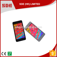 Highlight 5 inch quad core MT6582 android 4.4 slim design 3g smartphone dual sim wifi China no brand name mobile phone