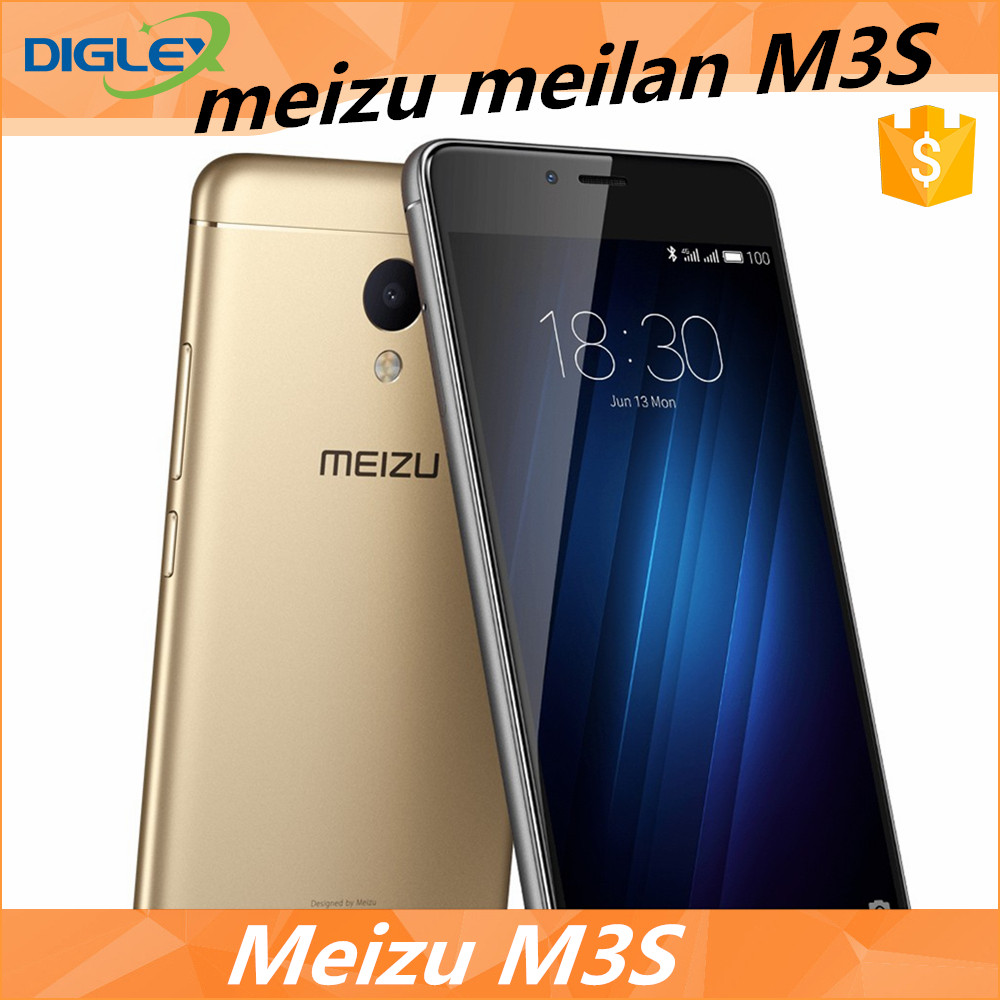 Original In Stock Meizu meilan M3S 32gb 13.0MP Flyme 5.1.5.0G smartphone