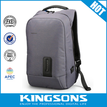 "2017 Mens shoulder nylon laptop bags computer,15.6"" backpack laptop bags with charging interface"