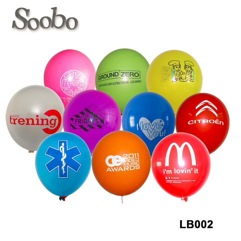 10inch ,12inch customized logo advertising printed latex helium ,Hydrogen balloon