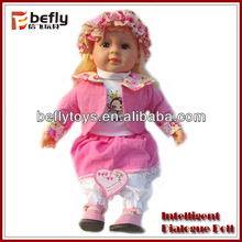 "18"" Intelligent dialogue baby dolls for 3 year olds"