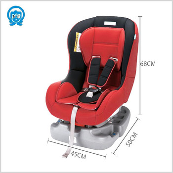 ECE certificate baby safety car seat in 4 level seat changeable