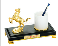 Luxury Office Decoration Gift with Horse Statue