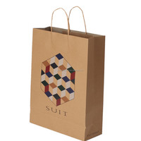 Custom Kraft Paper Bag With Handle