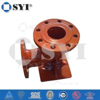 Ductile Iron 90 degrees Double Flanged Duckfoot Bend