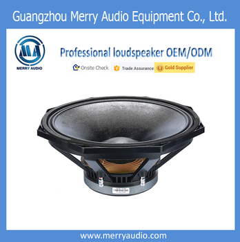 "15"" professional harga dj equipment full range concert bass sub woofer loudspeaker for line array empty box 15"" professional OEM"